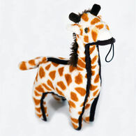 Steel Dog Ruffians Giraffe w/ Tennis Ball Dog Toy