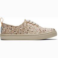TOMS Boys' & Girls' Cheetah Cordones Sneaker