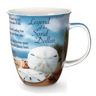 Cape Shore Maine Legend of the Sand Dollar Harbor Mug