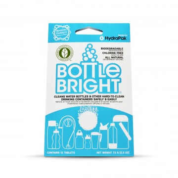 HydraPak Bottle Bright Cleaning Tablet - 12 Pk.