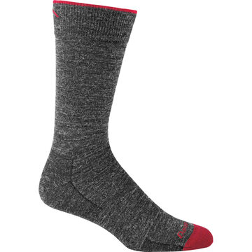Darn Tough Vermont Mens Solid Crew Light Cushion Sock