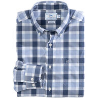 Southern Tide Men's Pearl Plaid Button Down Long-Sleeve Shirt