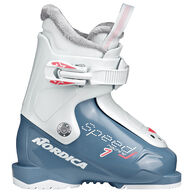Nordica Children's Speedmachine J1 (Girl) Alpine Ski Boot