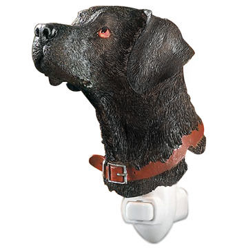 Wild Wings Black Lab Night Light