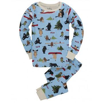 Hatley Boys Wilderness Storytime Pajama Set