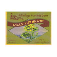 Halladay's Harvest Barn Dilly Herb Dip & Seasoning Blend