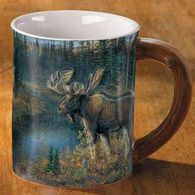 Wild Wings Da Bulls Moose Sculpted Mug