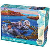Outset Media Jigsaw Puzzle - Sea Otter Family