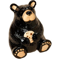 Big Sky Carvers Bear Cookie Jar