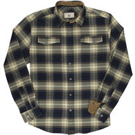 Dakota Grizzly Men's Riley Cord Trim Flannel Long-Sleeve Shirt