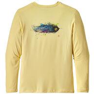 Patagonia Men's Graphic Tech Fish Long-Sleeve T-Shirt