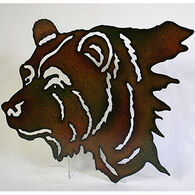Slifka Sales Co Metal Black Bear Wall Art