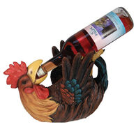 Rivers Edge Rooster Wine Bottle Holder