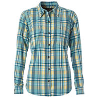 Royal Robbins Women's Thermotech Flannel Long-Sleeve Shirt