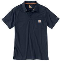 Carhartt Men's Big & Tall Force Cotton Delmont Pocket Polo Short-Sleeve Shirt