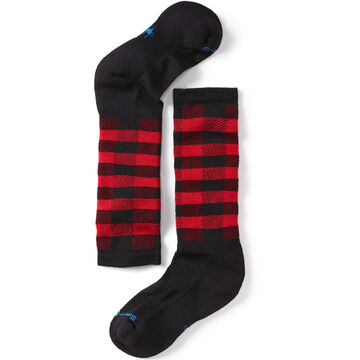 SmartWool Boys & Girls Wintersport Buff Check Sock