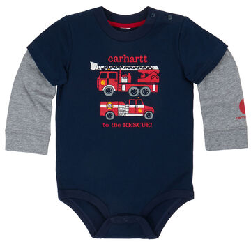 Carhartt Infant/Toddler Boys' To The Rescue Bodyshirt