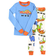 Lazy One Toddler Boy's Dino-Snore PJ Set