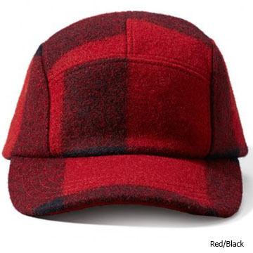 Filson Mens 5-Panel Wool Cap