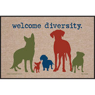 High Cotton Door Mat - Welcome Diversity