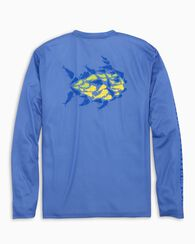 Southern Tide Men's Mahi Mahi Performance Long-Sleeve Shirt