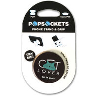 PopSockets Cat Is Good Cat Lover Mobile Device Expanding Stand & Grip