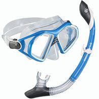 U.S. Divers Admiral 2 LX Island Dry Mask and Snorkel Set