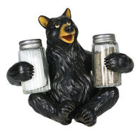 Rivers Edge Bear Salt & Pepper Shaker Holder