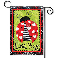 BreezeArt Love Bug Garden Flag