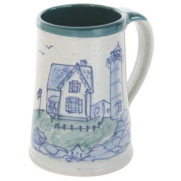 Great Bay Pottery Handmade Ceramic Stein - 20 oz.