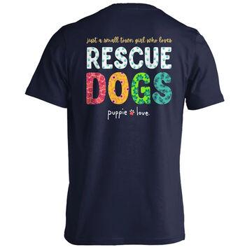 Puppie Love Womens Small Town Girl Short-Sleeve T-Shirt
