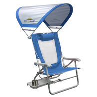 GCI Outdoor Waterside Big Surf Slide Table & Sunshade Beach Chair