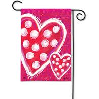BreezeArt Valentine Wishes Garden Flag