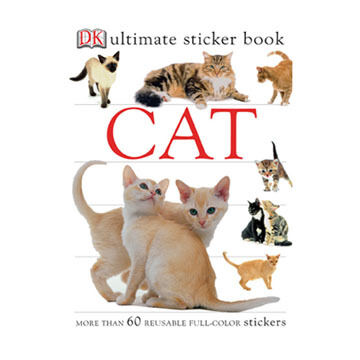 Cat Ultimate Sticker Book by DK Publishing