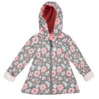 Stephen Joseph Girl's Floral Rain Jacket