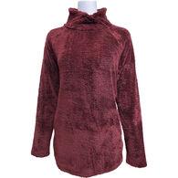 Pacific Teaze Women's Cross Neck Pullover Long-Sleeve Shirt