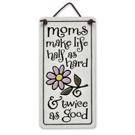 "Spooner Creek ""Moms Make Life"" Mini Charmers Tile"