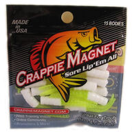 Leland's Lures Crappie Magnet 15-Piece Body Pack