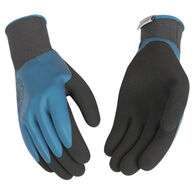 Kinco Women's Hydroflector Waterproof Polyester Knit Shell & Double-Coated Latex Palm Glove