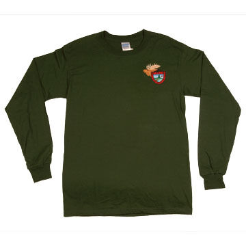 Maine Inland Fisheries and Wildlife Long-Sleeve T-Shirt - Moose