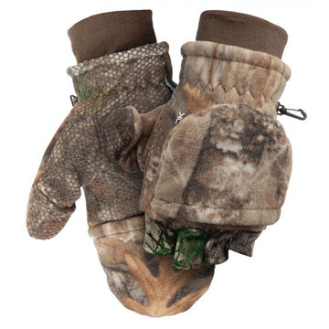 Scent-Lok Mens Fleece Pop-Top Glove