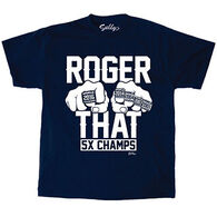 Sully's Men's Roger That 5 Rings Short-Sleeve T-Shirt