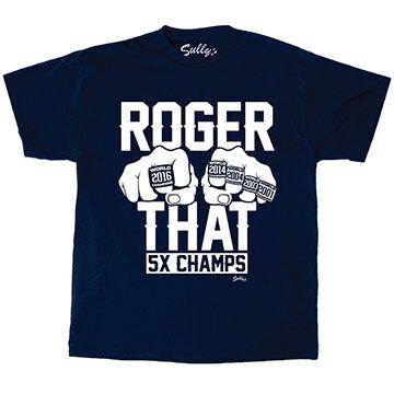 Sullys Mens Roger That 5 Rings Short-Sleeve T-Shirt