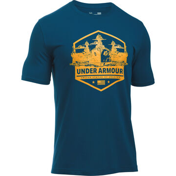Under Armour Men's UA Freedom by Sea Short-Sleeve T-Shirt