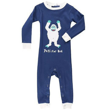 Lazy One Infant Boys Yeti Unionsuit