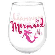Cape Shore Maine Mermaid at Heart Wine Tumbler