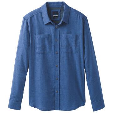 prAna Mens Trey Flannel Long-Sleeve Shirt