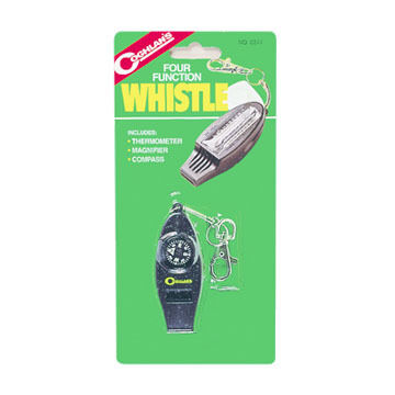 Coghlan's Four-Function Whistle