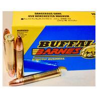 Buffalo Bore Dangerous Game 458 Winchester Magnum 450 Grain Barnes TSX Rifle Ammo (20)