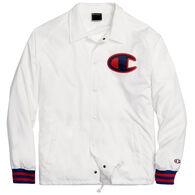 Champion Men's Champion Life Big C Logo Satin Coaches Jacket